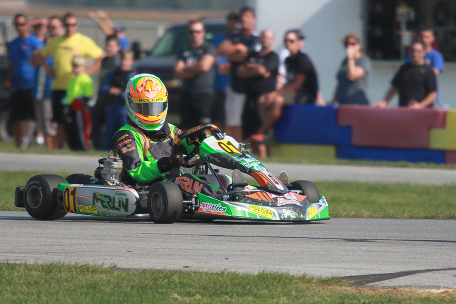 Senior rookie Brandon Lemke leads the TaG Driver Rankings heading into the SuperNationals 20 (Photo: EKN)