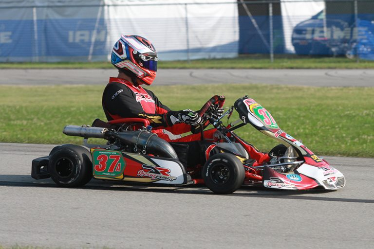 Daniel Formal remains the #1 driver in the EKN Driver Rankings (Photo: EKN)