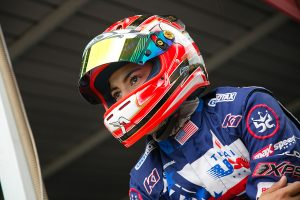 A return to the podium was not in the cards for Mathias Ramirez (Photo: Rotax-Kart.com)
