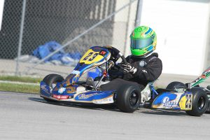Zane drove to two victories in 2016 at the WKA Manufacturers Cup Series program (Photo: eKartingNews.com)