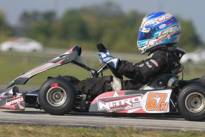 Nitro Kart made its WKA Manufacturers Cup Series debut at New Castle in September (Photo: EKN)