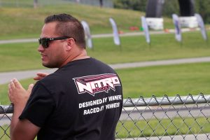 Championship driver Nick Tucker is launching the Nitro Kart chassis for Cadet level racing (Photo: EKN)