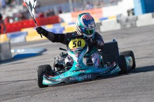 American Gary Carlton is gunning for his third SuperNationals KZ victory (Photo: On Track Promotions - otp.ca)