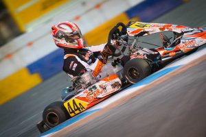 Anthony Abbasse holds the pole position for the KZ, vying for the $20,000 payday (Photo: On Track Promotions - otp.ca)