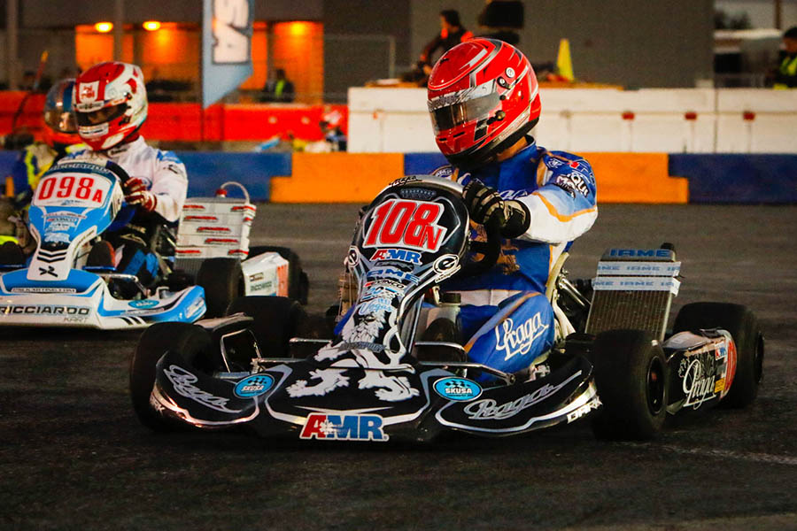 Brandon Jarsocrak starts from the pole position in X30 Senior (Photo: On Track Promotions - otp.ca)