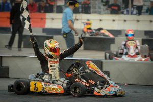 Paolo de Conto landed his second KZ2 SuperNats victory, earning $20k (Photo: On Track Promotions - otp.ca)
