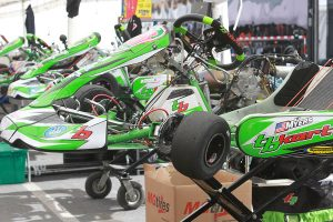 AJ Myers is looking to carry the TB Kart name to the top of the podium in S1 and KZ (Photo: EKN)