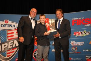 Tyler Gonzalez was awarded the Motorsport.com Emerson Fittipaldi Driver of the Year