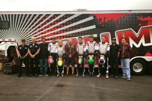 Aluminos team at the Superkarts! USA SuperNationals 20 (Photo: Aluminos)