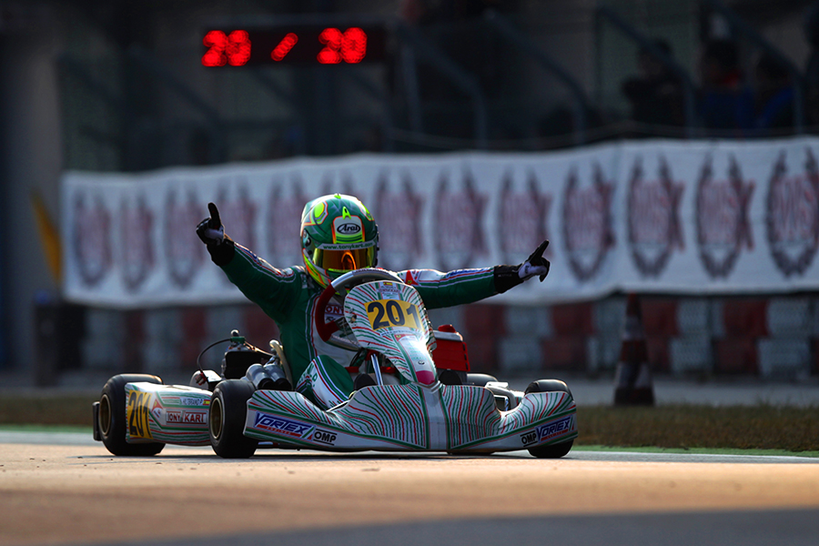 Tony Kart: First Race, First Victory – ekarting News