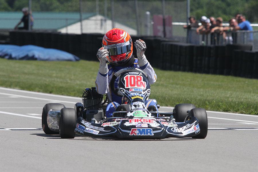 Brandon Jarsocrak ran away with the KA100 win (Photo: EKN)