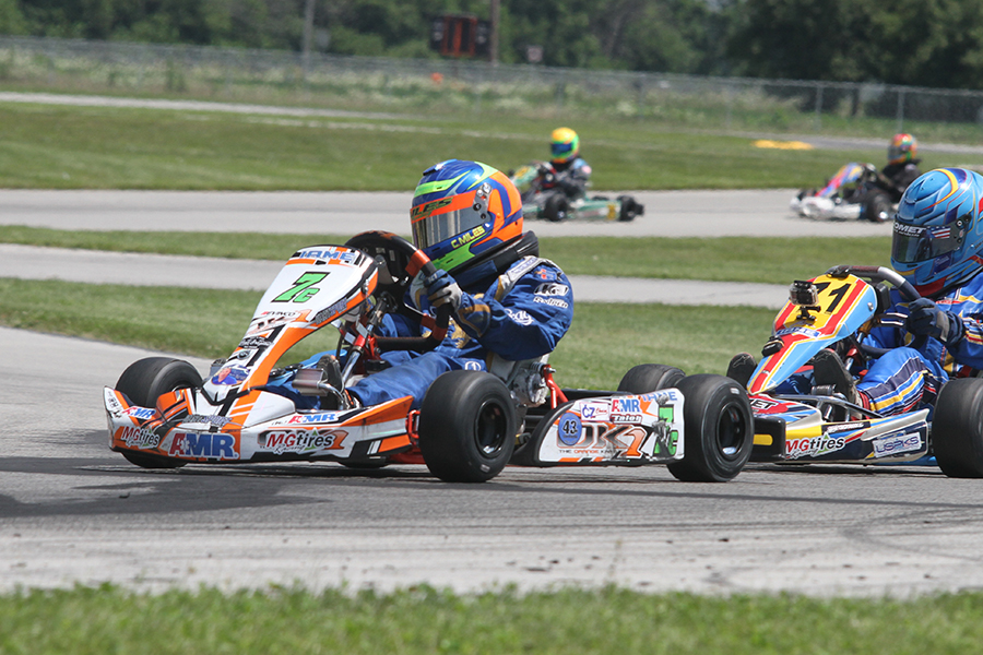 Christian Miles took home the victory in Yamaha Cadet (Photo: EKN)