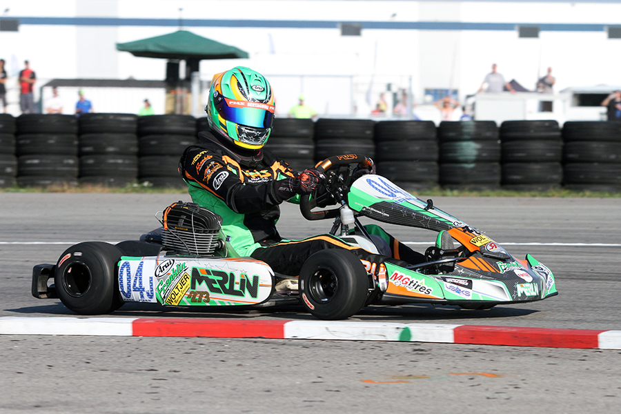 Alex Bertagnoli became the inaugural KA100 champion (Photo: EKN)