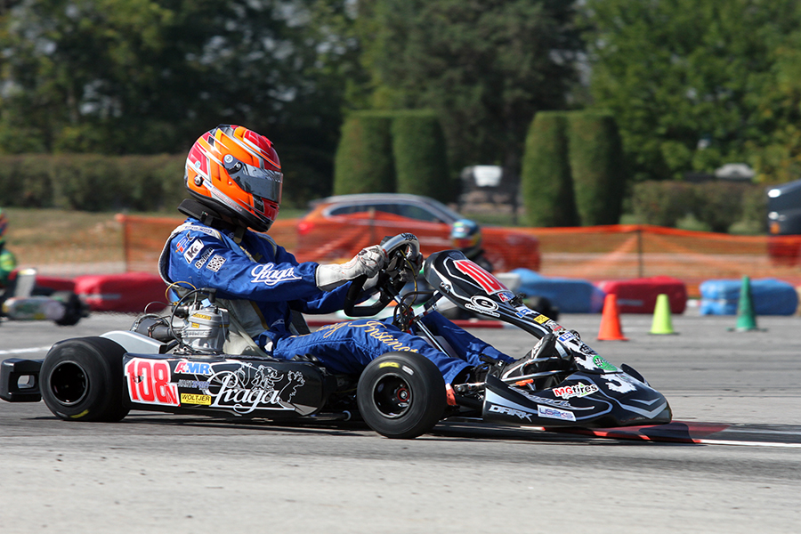 Brandon Jarsocrak became the fifth different IAME Pro champion (Photo: EKN)