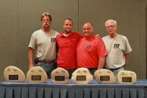 Tony Neilson won a record six 'Rock' trophies (Photo: EKN)
