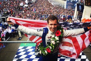 Gustavo Menezes has been a sponsored driver since his early Cadet years, and this weekend won at Le Mans