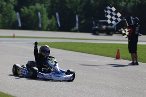 Elliot Cox notched three wins on the weekend, including two in Yamaha Rookie (Photo: Kathy Churchill - Route66SprintSeries.com)