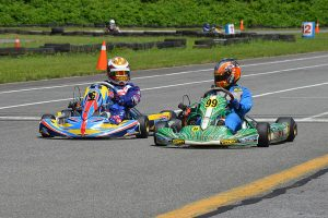 Derek Wang and Brady Egger were victors in the Briggs 206 Senior division (Photo: Dalton Egger - CanAmKartingChallenge.com)