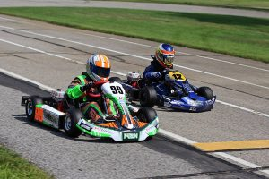 Cameron Brinkman and Indy Ragan each took home a win in Kid Kart (Photo: Kathy Churchill - Route66SprintSeries.com)
