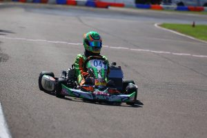 Alex Bertagnoli was perfect on the weekend in IAME Junior (Photo: Kathy Churchill - Route66SprintSeries.com)