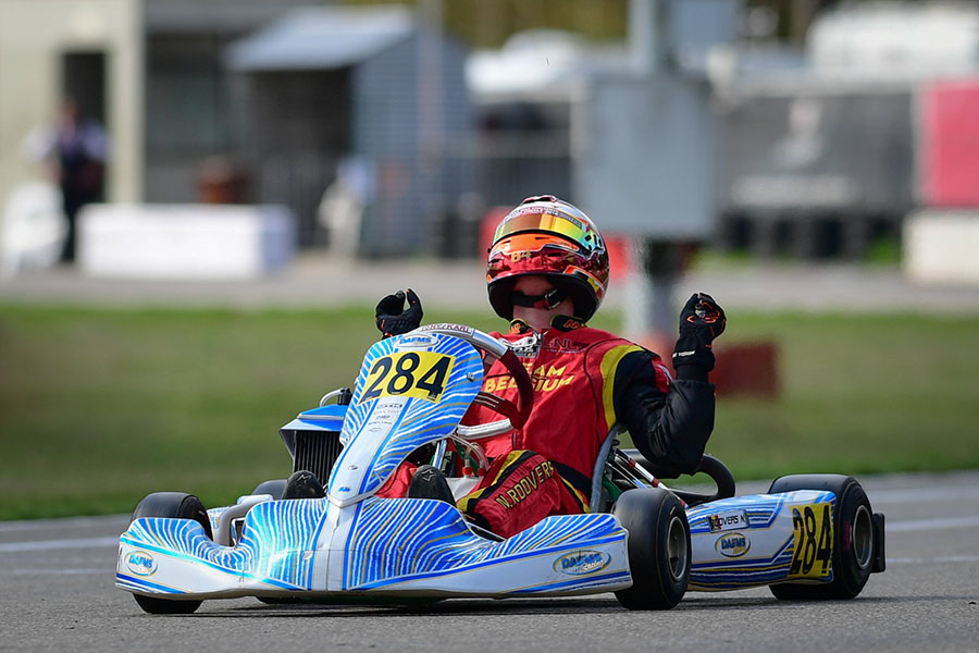 Exciting Racing As Rotax Max Euro Challenge Heats Up In