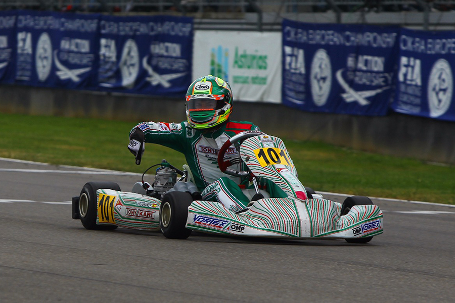Tony Kart: OK Success in Spain – eKartingNews.com