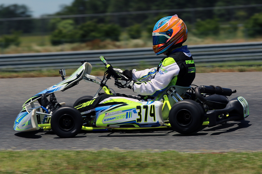 Top Five For Nicholas D Orlando At New Jersey Motorsports