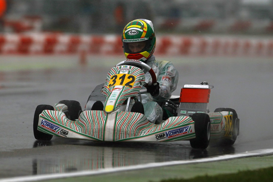 Tony Kart: Gustafsson Leader in OKJ – ekartingnews