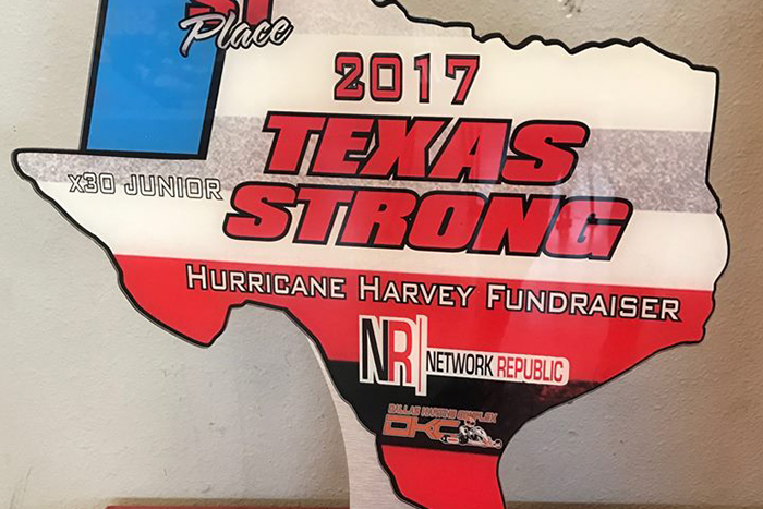 Dallas Karting Complex >> Karting Families Receive Support from Hurricane Harvey Fundraiser at Dallas Karting Complex ...