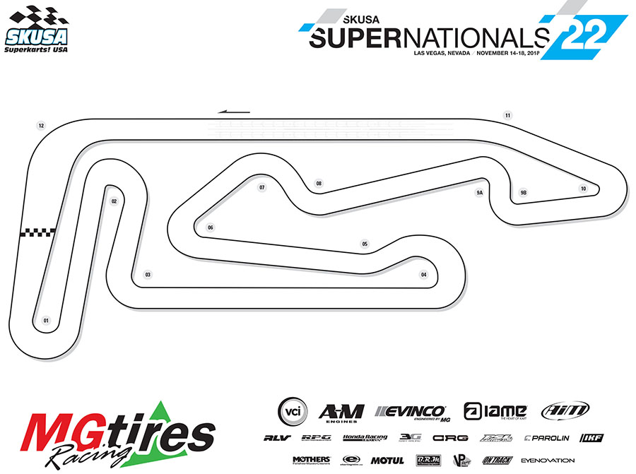 Supernationals 22 Track Layout Confirmed By Superkarts