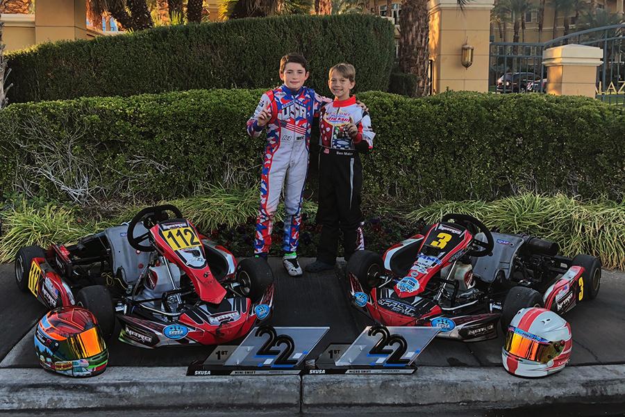 Team Nitro Kart Sweeps Cadet Classes at SKUSA SuperNationals