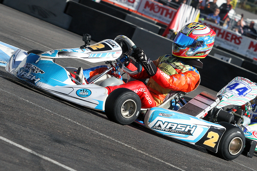 f107173c9d5 Jak Crawford won in his Junior debut at the SuperNats in 2017 (Photo: EKN)