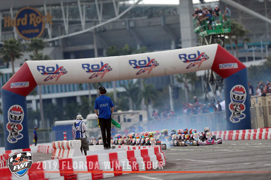 4415aff746fb48 Florida Winter Tour Completes Round Two of 2019 with Second Event at Hard  Rock Stadium