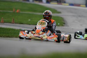 Colton Ramsey is among those looking to fight for the KA100 Senior title in 2019 (Photo: EKN)