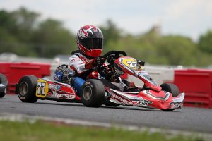 First victory for Spencer Conrad in Micro Swift in USPKS competition (Photo: EKN)