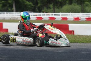 Danny Robertson added his name to the list of winners in the X30 Masters division (Photo: EKN)