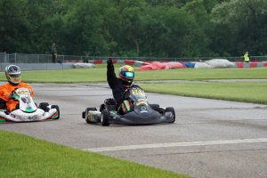 Kyle Thome won in his KA100 Senior debut on Saturday (Photo: Alissa Grim)