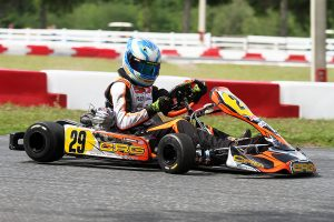 CRG Nordam's Austin Garrison took home the $2,500 payday at Ocala to lead the X30 Senior division (Photo: EKN)
