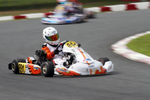 Brent Crews looks to extend his KA100 Junior point lead at GoPro (Photo: EKN)