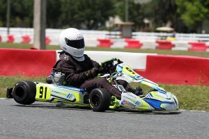 David Galowina was solid in his X30 Masters debut, leaving Ocala as the point leader (Photo: EKN)