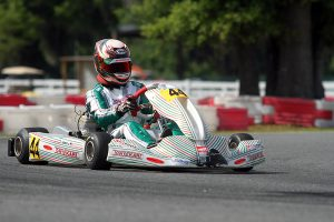 John Burke shined in Ocala, and leads the standings in X30 Junior (Photo: EKN)
