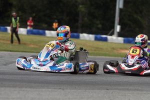 Scott Roberts bounced back from a crash in the Prefinal to win the X30 Masters main event (Photo: EKN)