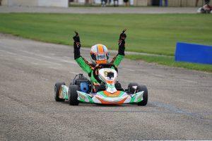 Cameron Brinkman scored both wins in the Mini Swift division (Photo: Alissa Grim)