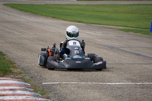 Carter Pryor became the first driver to win in Briggs 206 Junior, grabbing both main events (Photo: Alissa Grim)
