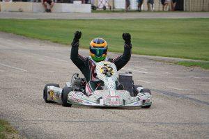 Dylan Gerding won the X30 Senior main event on Saturday (Photo: Alissa Grim)