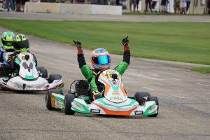Nicholas Terlecki doubled up in the X30 Junior category (Photo: Alissa Grim)