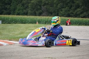 Stephen Dial bested the KA100 Senior field on Saturday for his first win of the season (Photo: Alissa Grim)