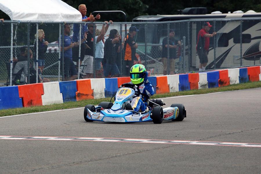 KA100 Junior winner Zach Collins (Photo: Alissa Grim)