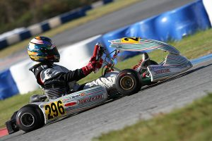 Wire-to-wire win for Mateo Rubio Luengo in KA100 Junior (Photo: EKN)