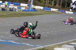 Two wins on the weekend for Cade Jaeger in Micro Swift (Photo: EKN)